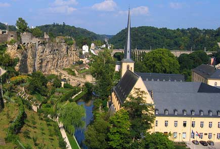 Week-end au Luxembourg
